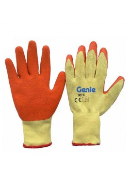 Cotton Knitted Latex Coated Gloves